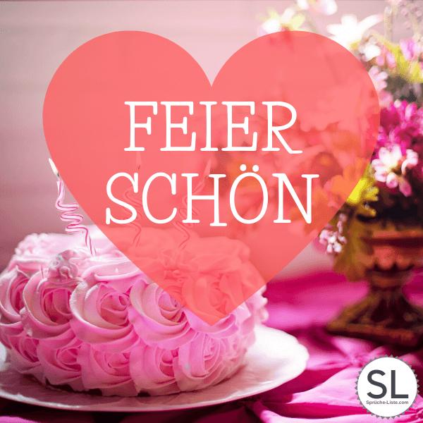Feier schön! - Geburtstagsbilder