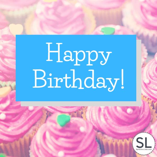 Leckere Cupcakes - Geburtstagsbilder